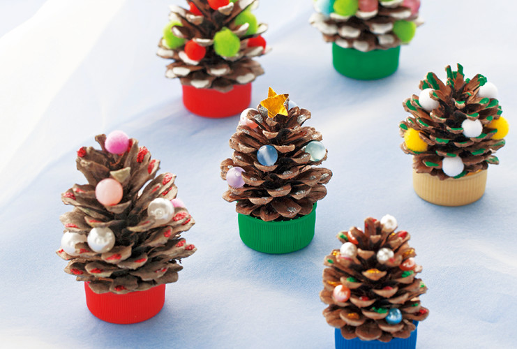 クリスマスを彩る季節の制作アイデア集