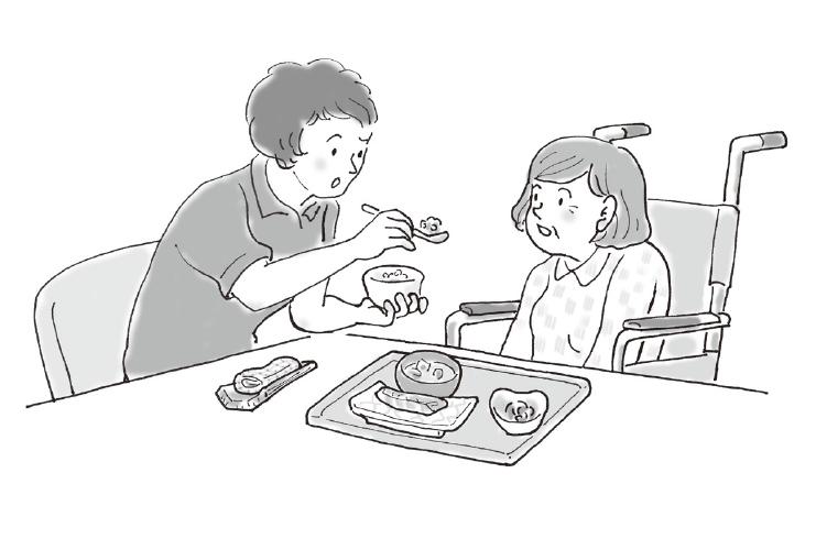 Q:食事介助がうまくいきません【前編】