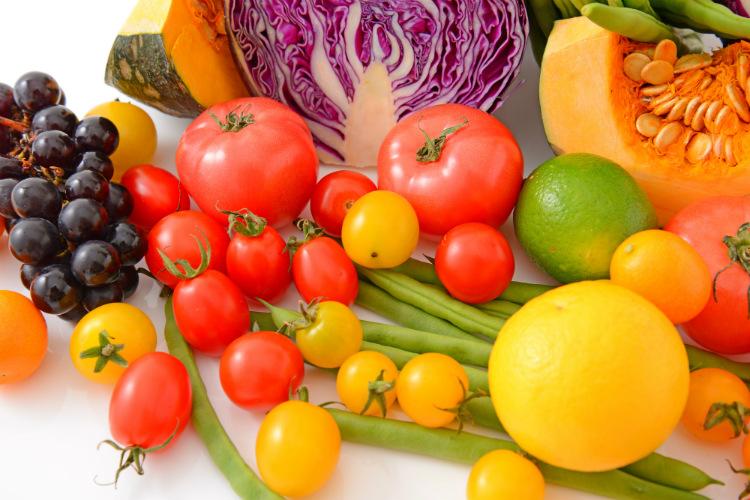 野菜と果物のぬり絵特集