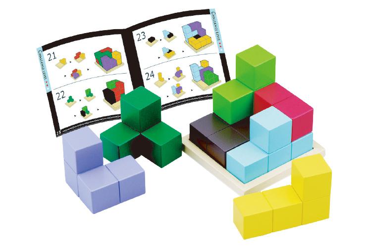柔軟性、集中力が身につく「賢人パズル」